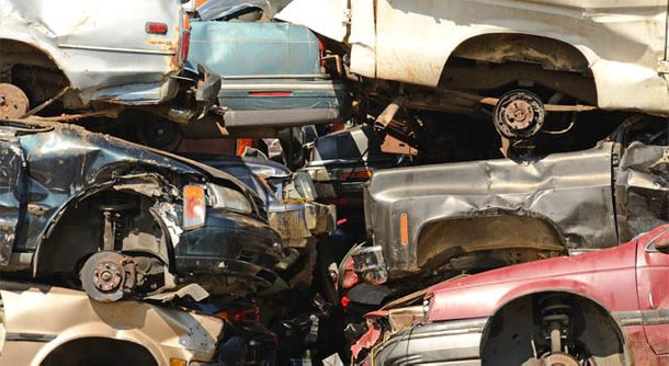 Scrap vehicles for car and truck recycling in Hanover, ON